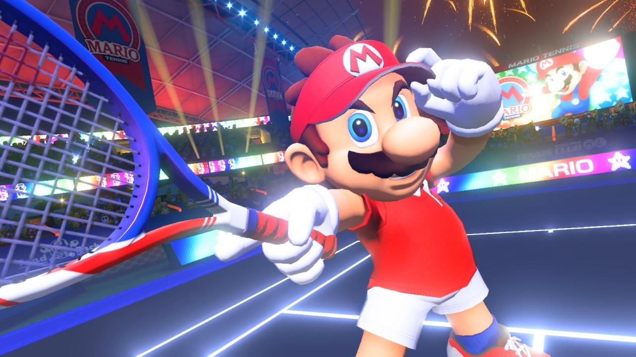 Mario Tennis Aces torneo serena williams
