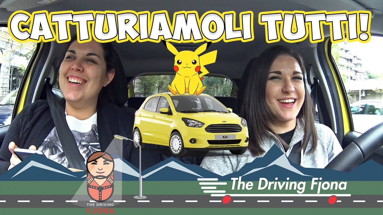 Andiamo a caccia di Pokemon a bordo di Ford KA+ thumbnail