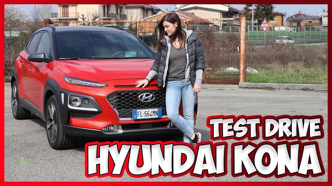 hyundai kona test drive