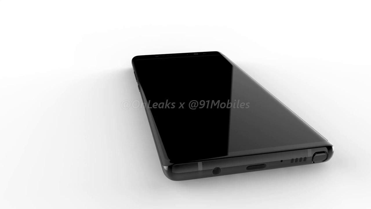 Samsung Galaxy Note 8: spuntano nuovi render thumbnail