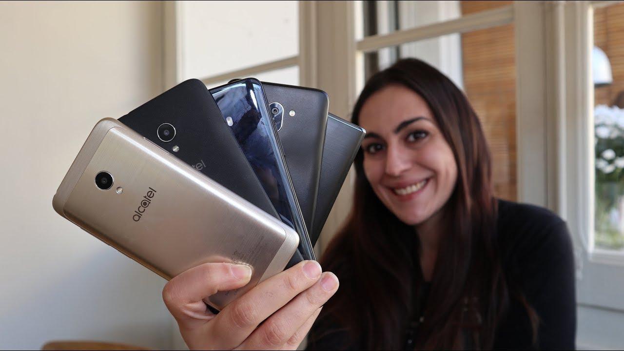 Alcatel presenta una linea di smartphone con display 18:9: tutto quello che c'è da sapere thumbnail