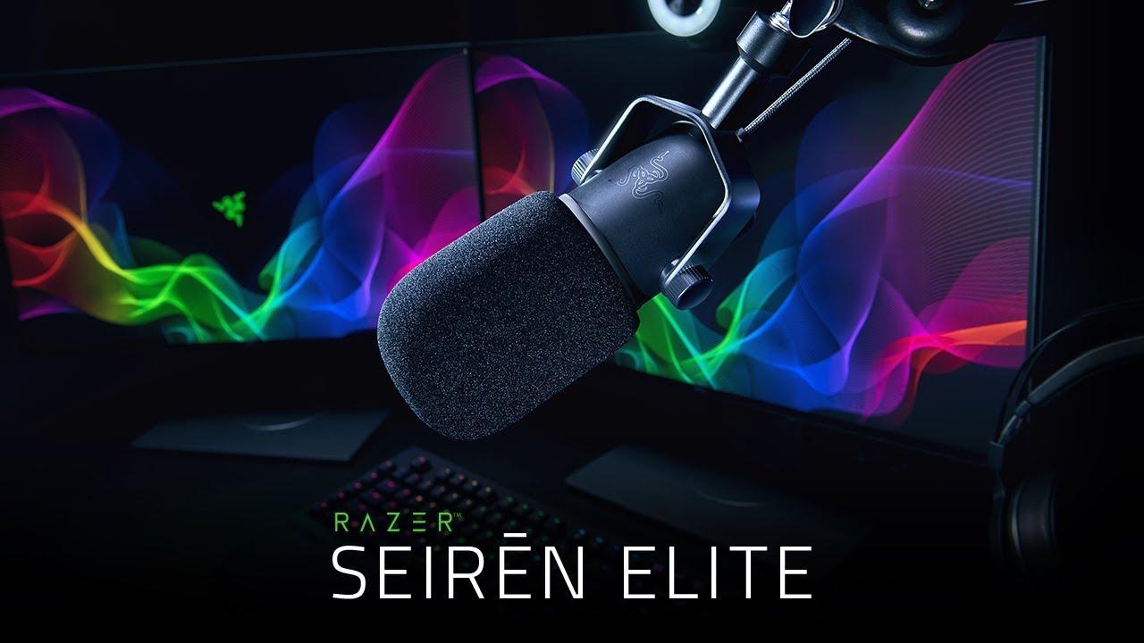 Razer Seiren Elite, il microfono per live streamer e YouTuber thumbnail