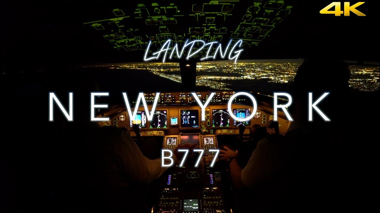 Ecco com'è un Boeing 777 quando atterra a New York, in 4K thumbnail