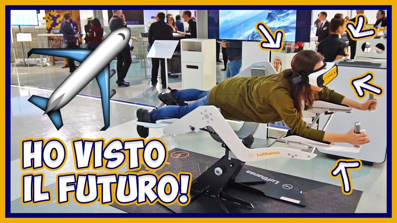 Lufthansa: ho visto il futuro dell'aviazione e sono rimasta a bocca aperta thumbnail