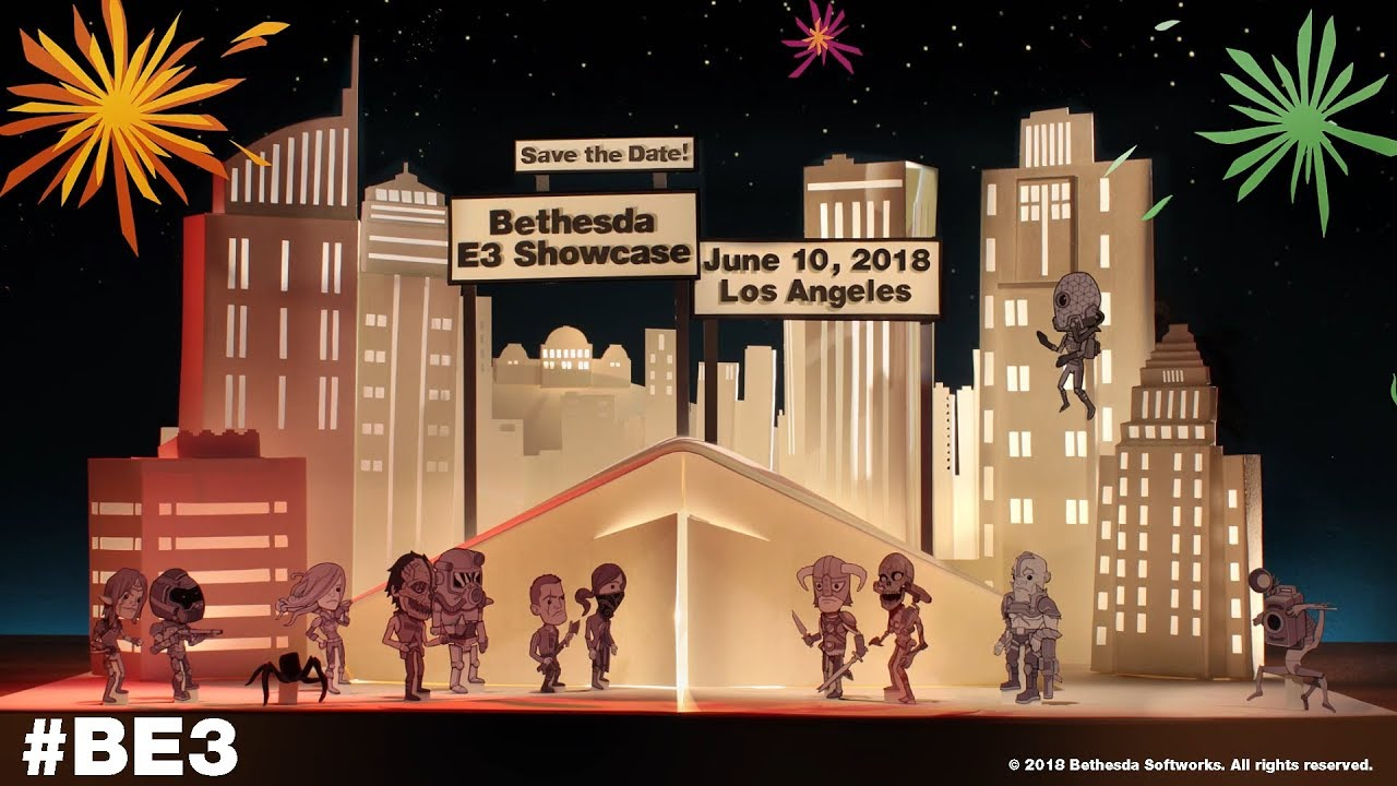 E3 2018: la press conference di Bethesda si terrà l'11 giugno thumbnail
