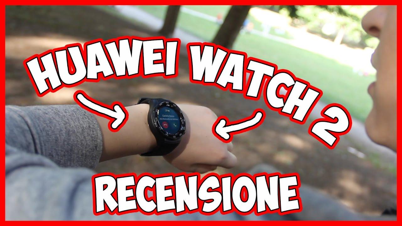 Huawei Watch 2 – Recensione dello smartwatch targato Huawei thumbnail