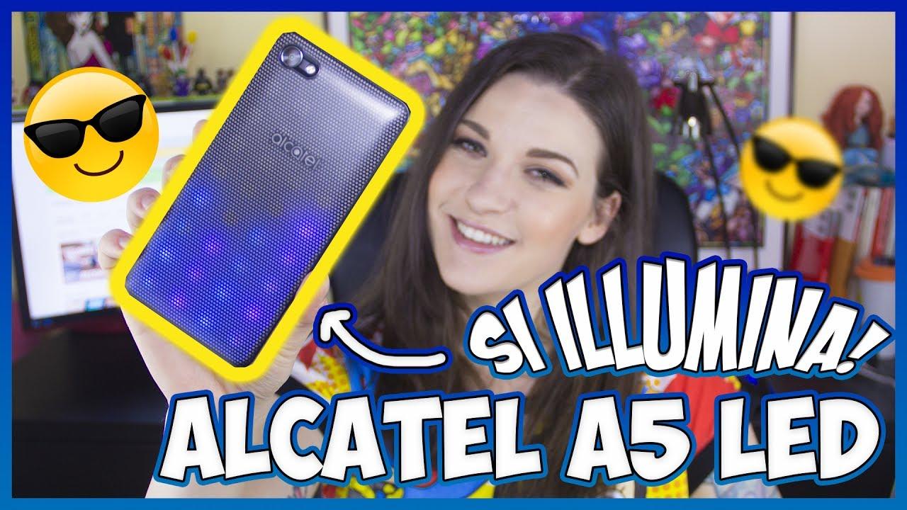 Alcatel A5 LED: lo smartphone dai mille LED colorati thumbnail