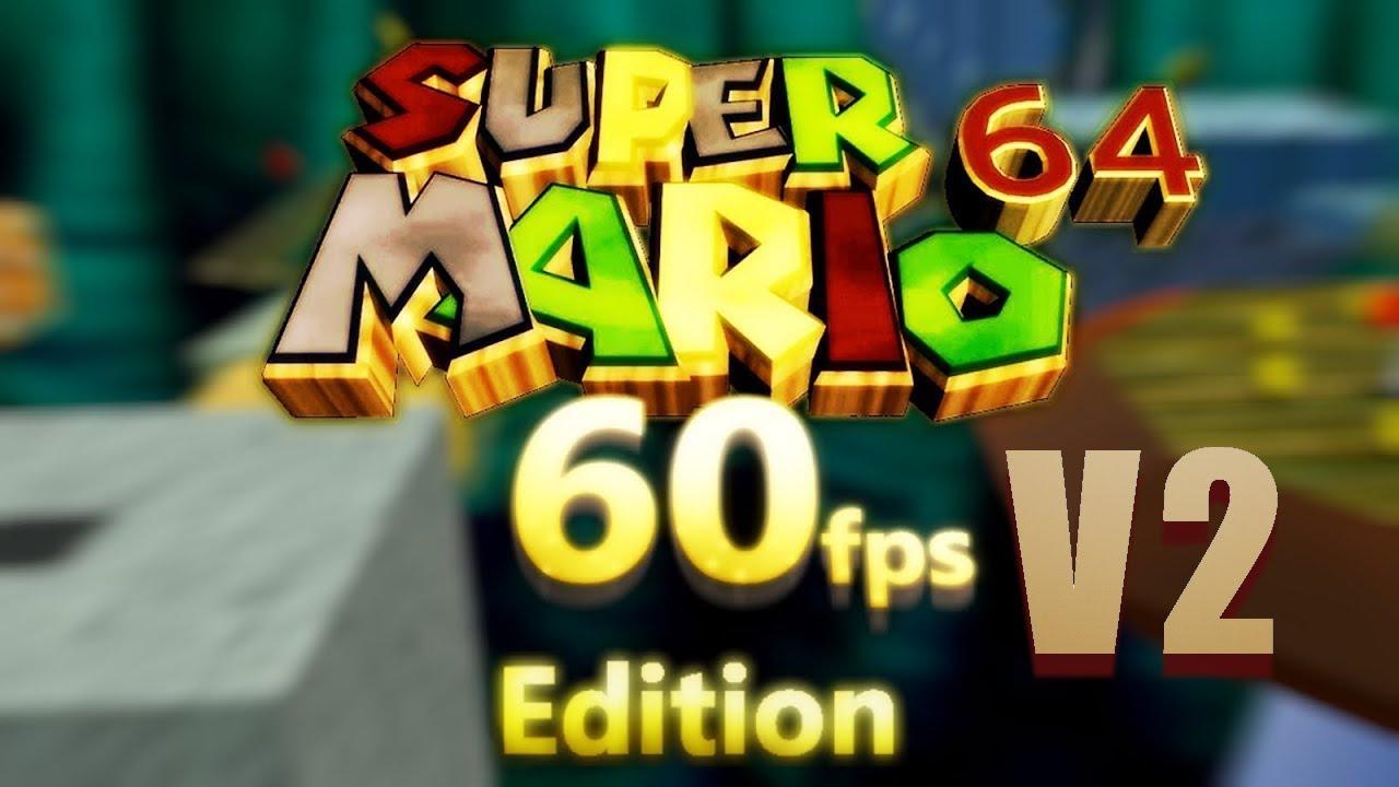 Super Mario 64: ecco come appare il gioco in HD a 60FPS thumbnail