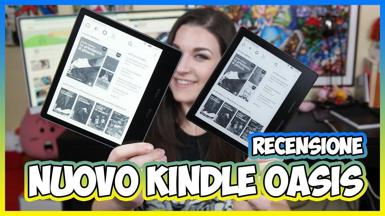 Recensione Nuovo Kindle Oasis: l'ebook reader di lusso targato Amazon thumbnail