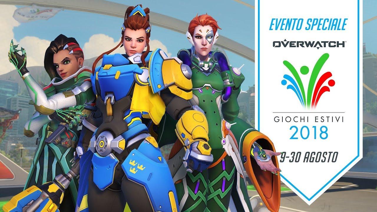 Overwatch: disponibili i Giochi Estivi 2018 fino al 31 agosto thumbnail