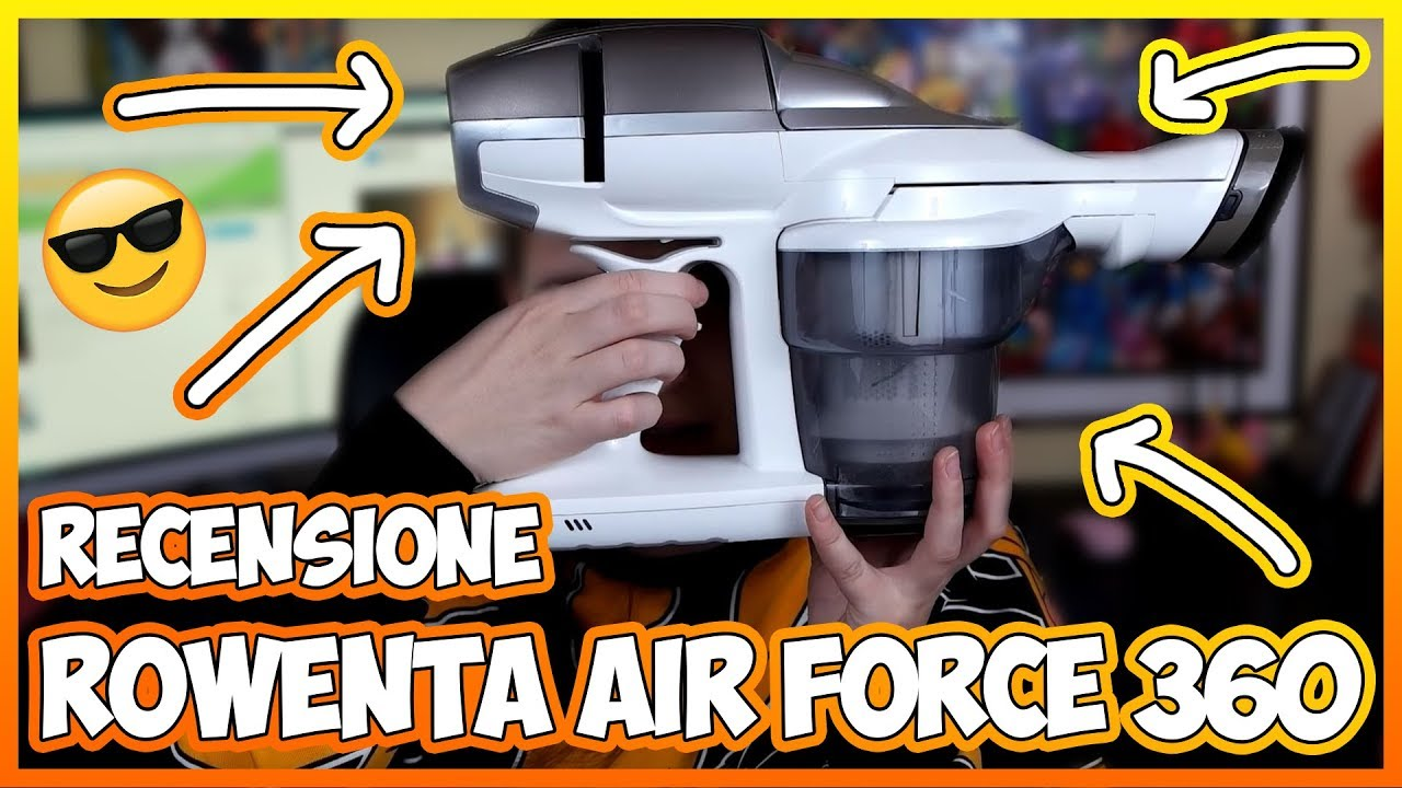 Recensione Rowenta Air Force 360