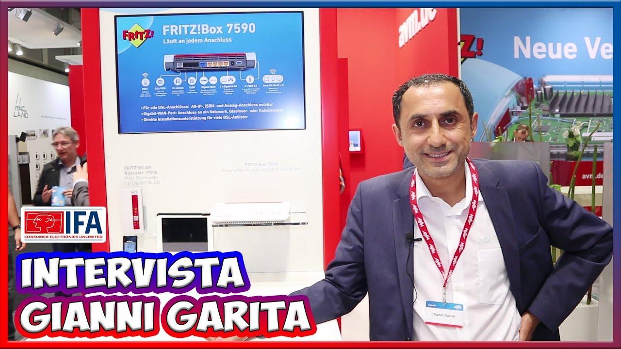 [IFA 2017] Gianni Garita: ecco perché scegliere un FRITZ!box thumbnail