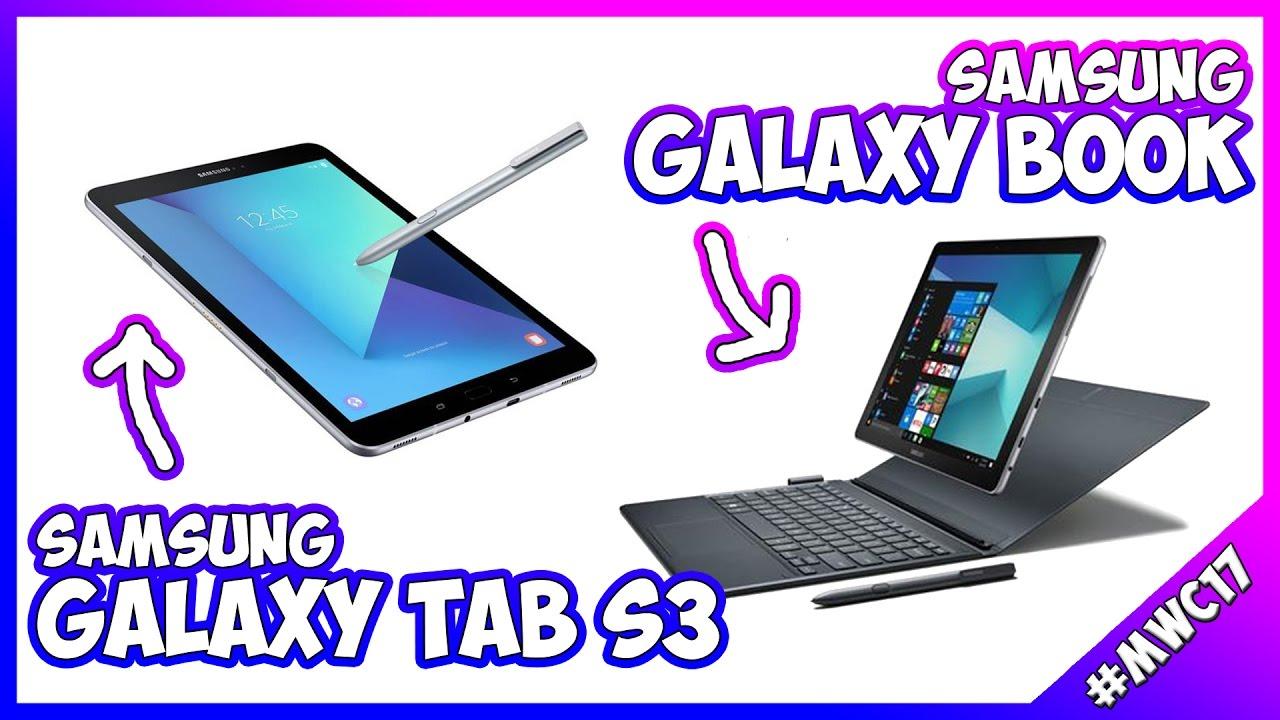 [MWC 2017] Samsung Galaxy Tab S3 e Galaxy Book: primo incontro thumbnail