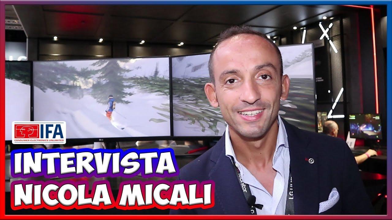 [IFA 2017] Nicola Micali ci racconta i nuovi monitor per il gaming di LG thumbnail
