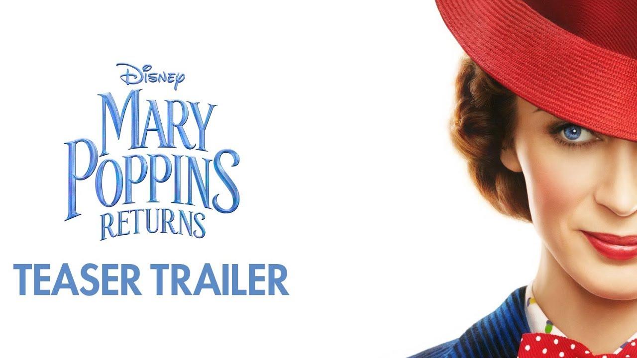 Pubblicato il primo teaser trailer di Mary Poppins Returns! thumbnail