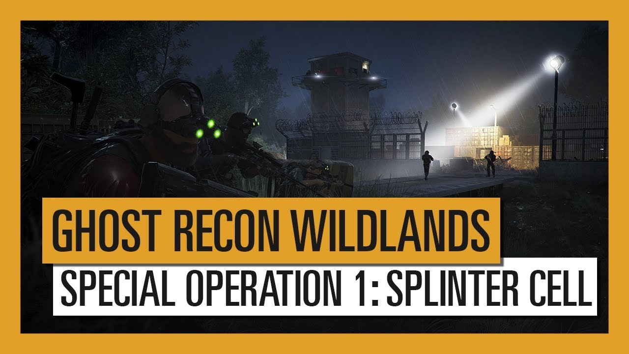 In Tom Clancy's Ghost Recon Wildlands arriva anche Sam Fisher thumbnail