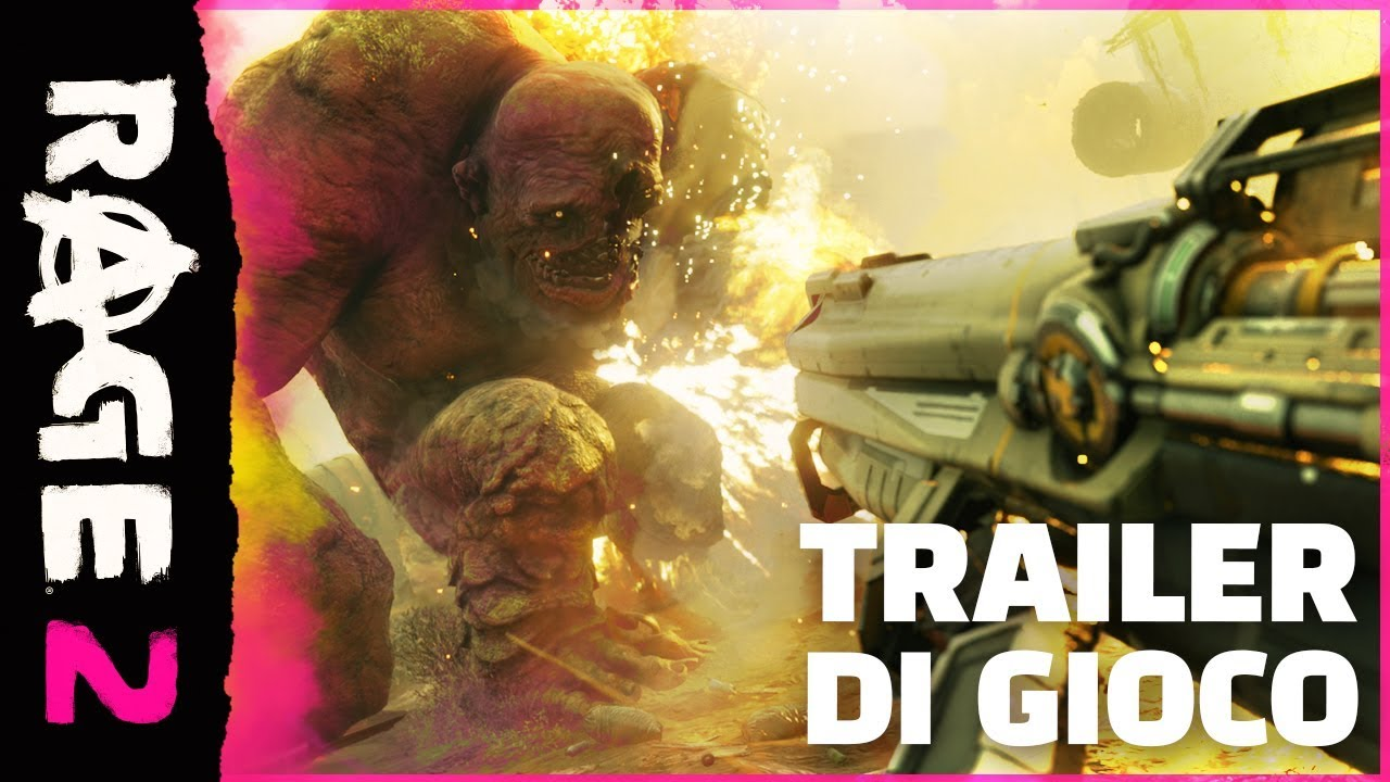 RAGE 2, il trailer gameplay dell'FPS di Avalanche Studios e id Software thumbnail