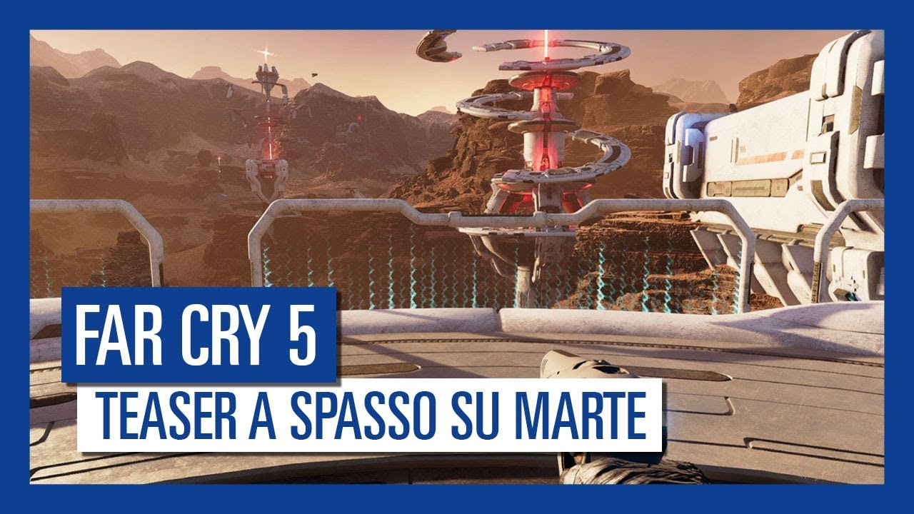 Far Cry 5: la nuova avventura post-lancio ci porta su Marte thumbnail