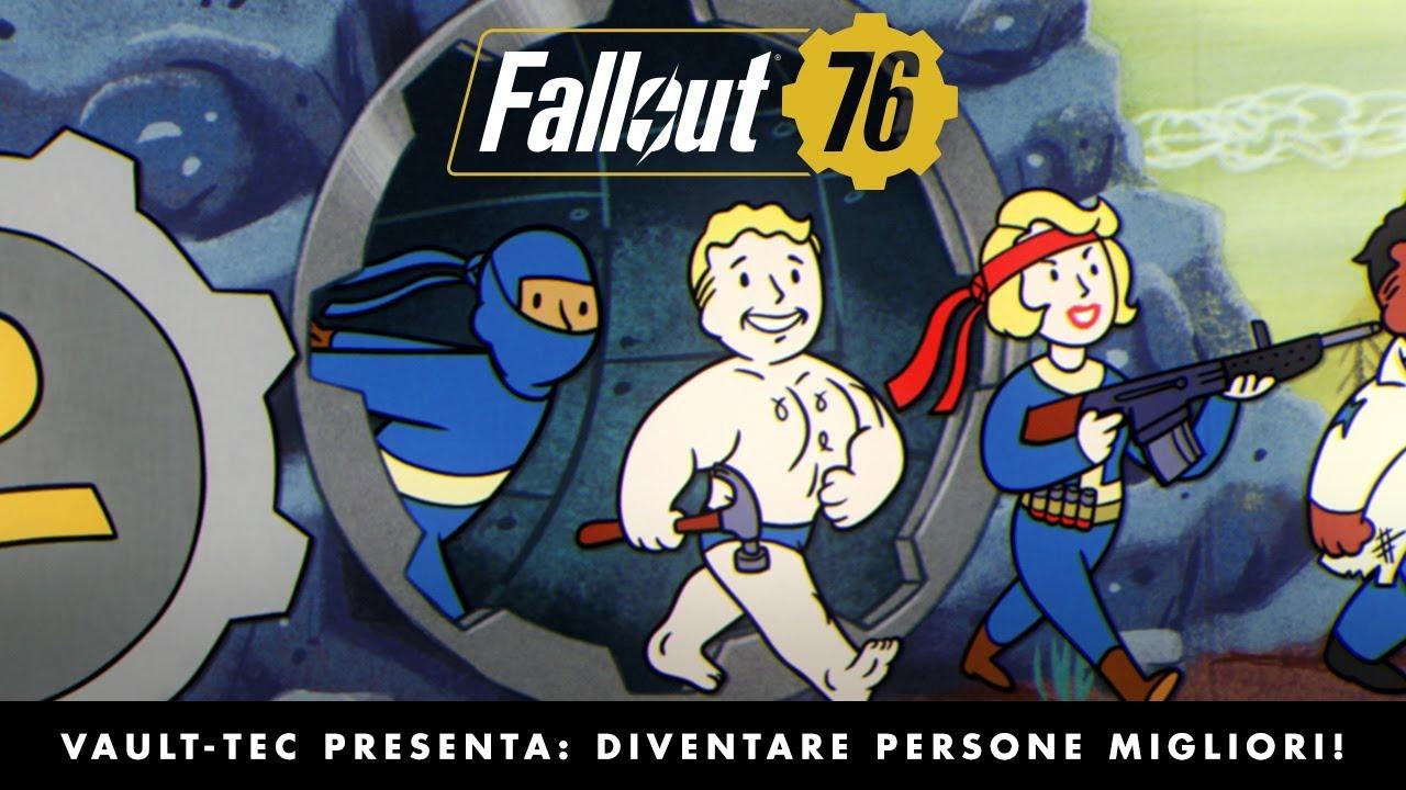 Fallout 76: il nuovo trailer è dedicato al sistema dei Talenti thumbnail