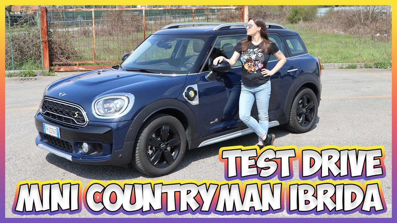 MINI Cooper S E Countryman All4: test drive della prima MINI ibrida plugin thumbnail