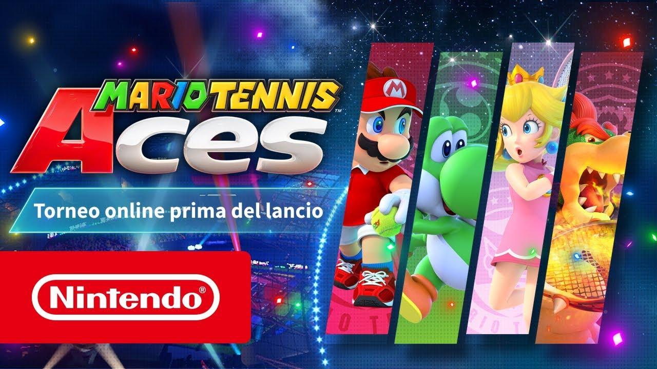 Mario Tennis Aces, un torneo online prima del lancio su Switch thumbnail