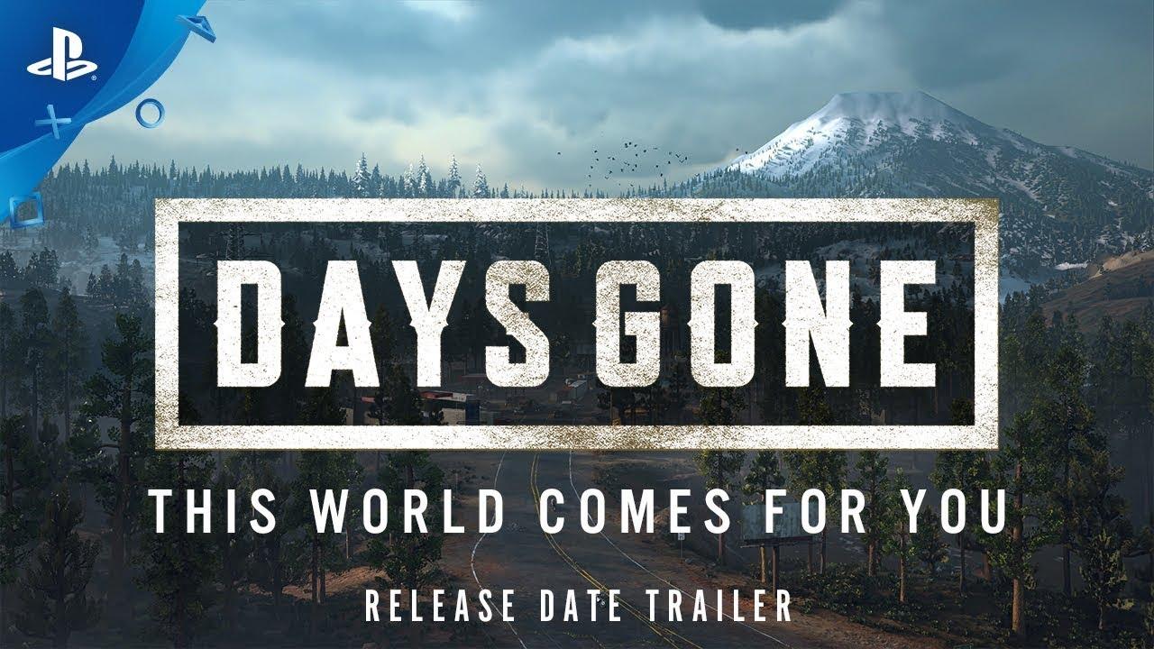 Days Gone: Sony annuncia la data d'uscita in vista dell'E3 2018 thumbnail