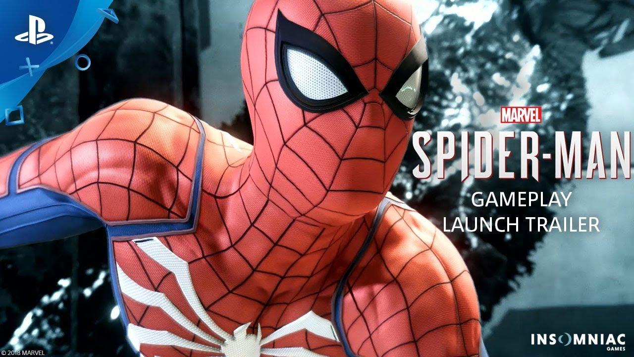 Marvel's Spider-Man, ecco lo spettacolare trailer di lancio thumbnail