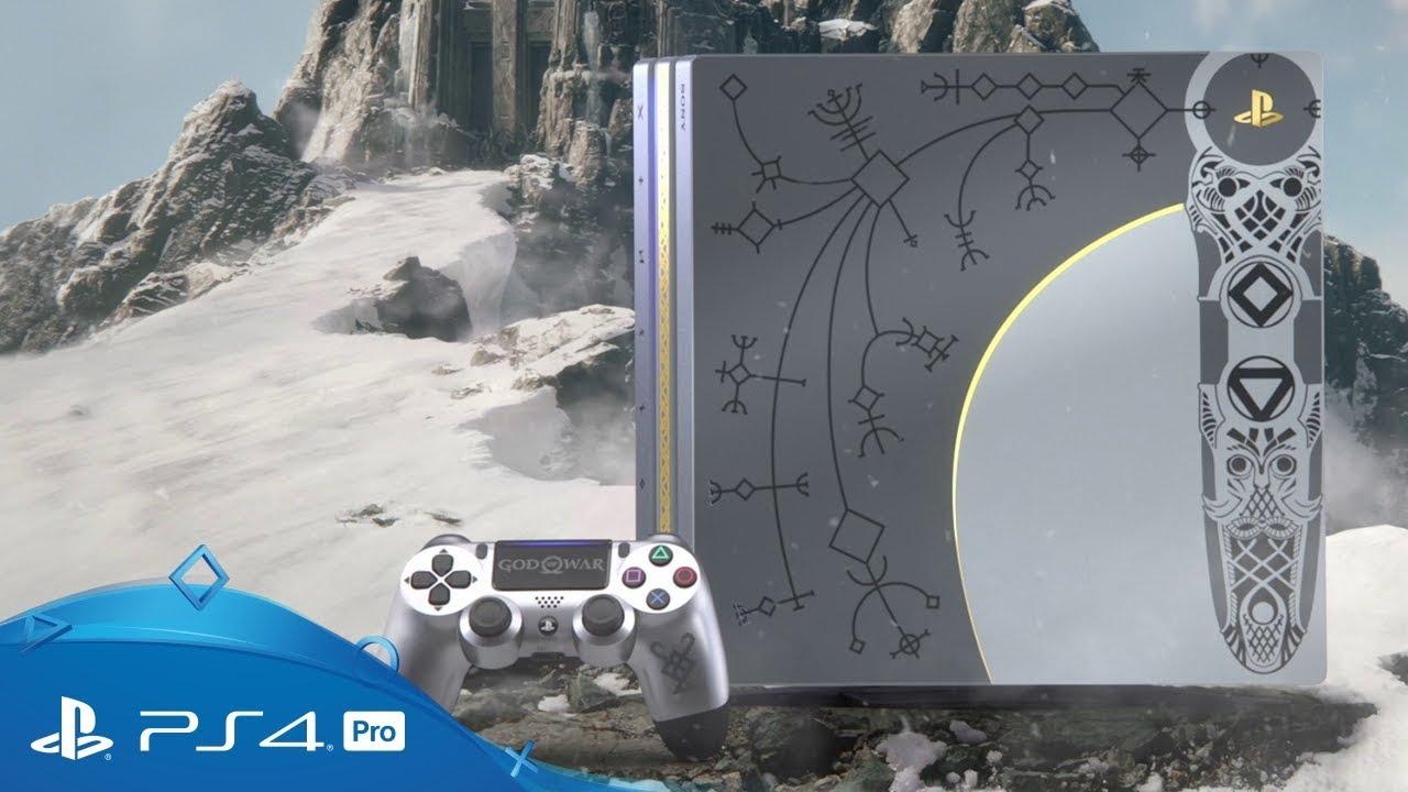 God of War: ecco le immagini della PlayStation 4 Pro ispirata al gioco thumbnail