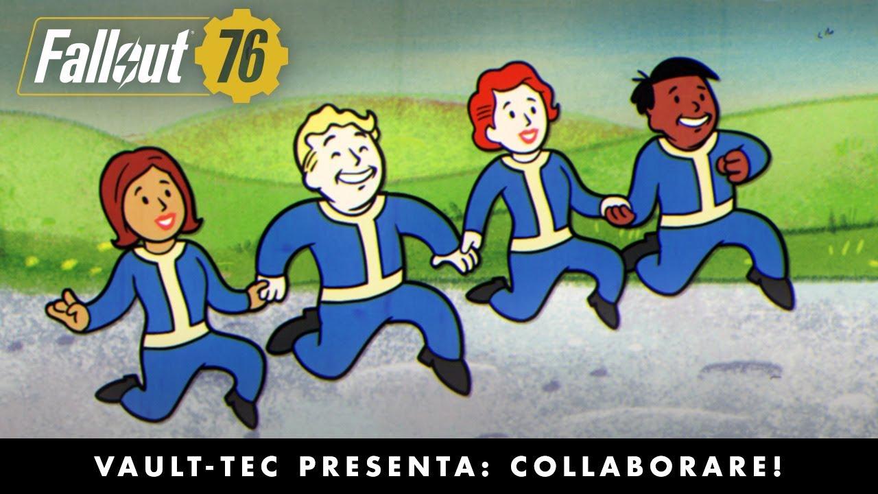 Fallout 76: il nuovo filmato Vault-Tec ci presenta la co-op thumbnail