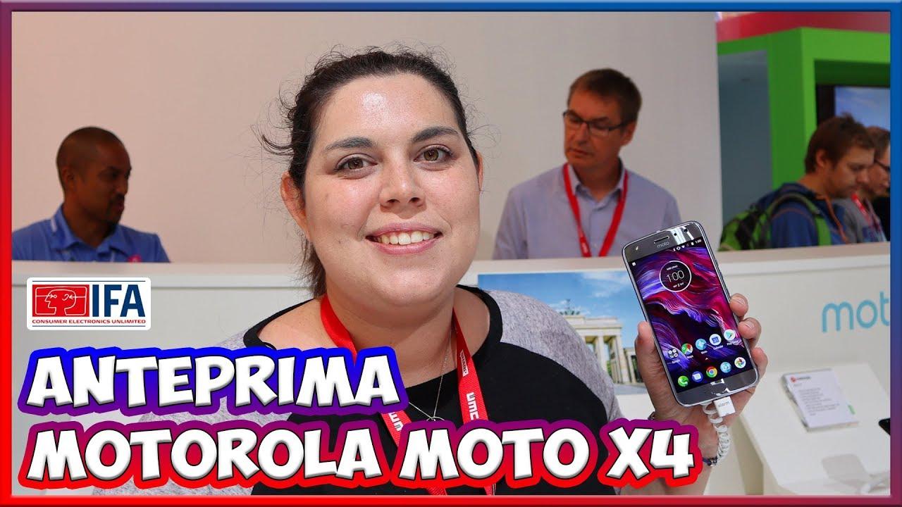 [IFA 2017] Moto X4: lo smartphone con fotocamera grandangolare thumbnail