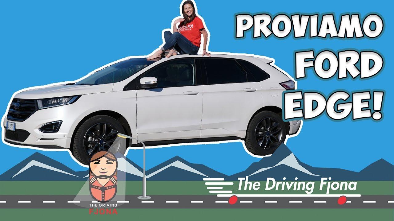 Com'è guidare un gigantesco Ford Edge in città? thumbnail