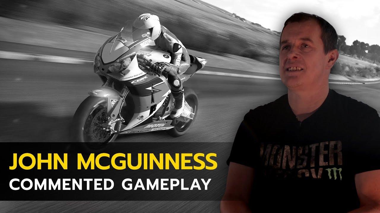 TT Isle of Man commentato dal leggendario pilota John McGuinness thumbnail