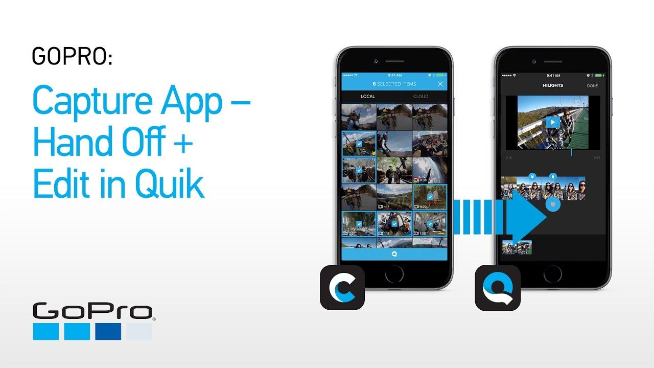 Nuovi aggiornamenti per le app Quik e Capture di GoPro thumbnail