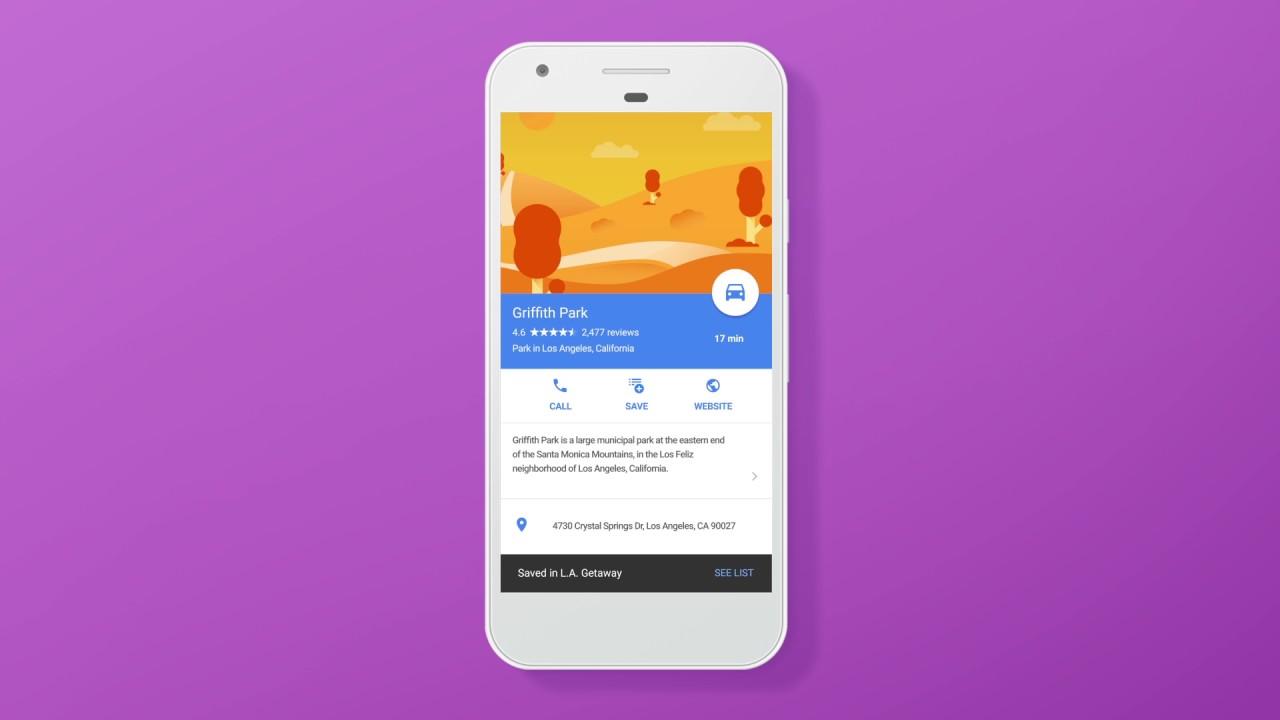 Google Maps: conservate e condividi i vostri luoghi preferiti thumbnail