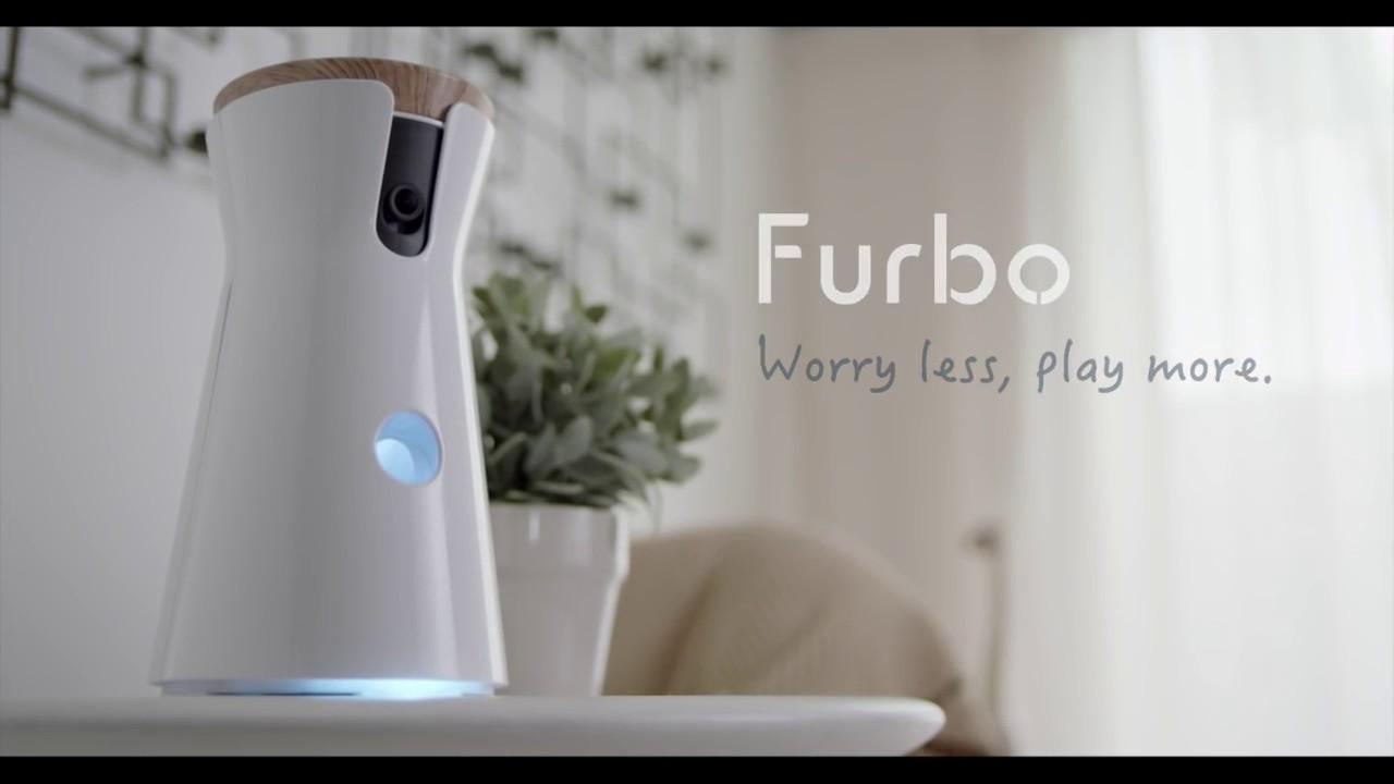 Furbo, la videocamera interattiva per vedere e parlare al proprio cane thumbnail
