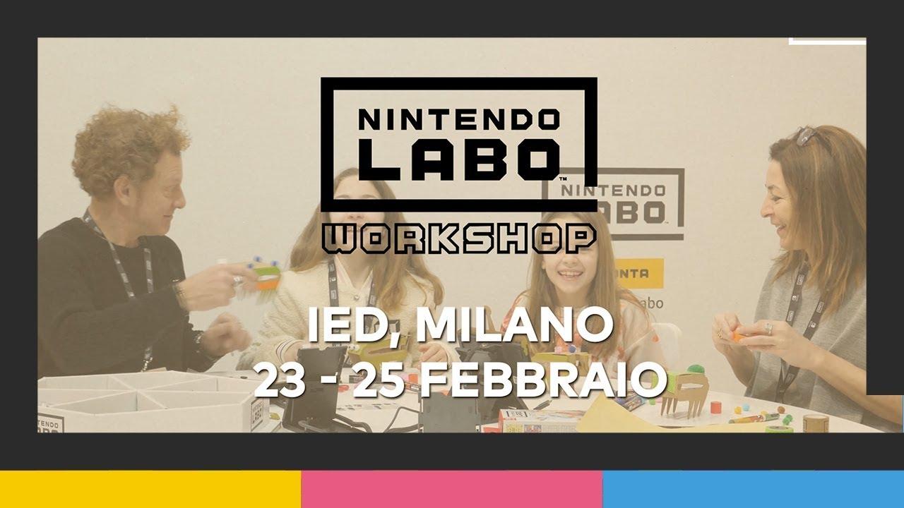 Nintendo Labo: ecco i pareri di chi ha partecipato al workshop italiano thumbnail