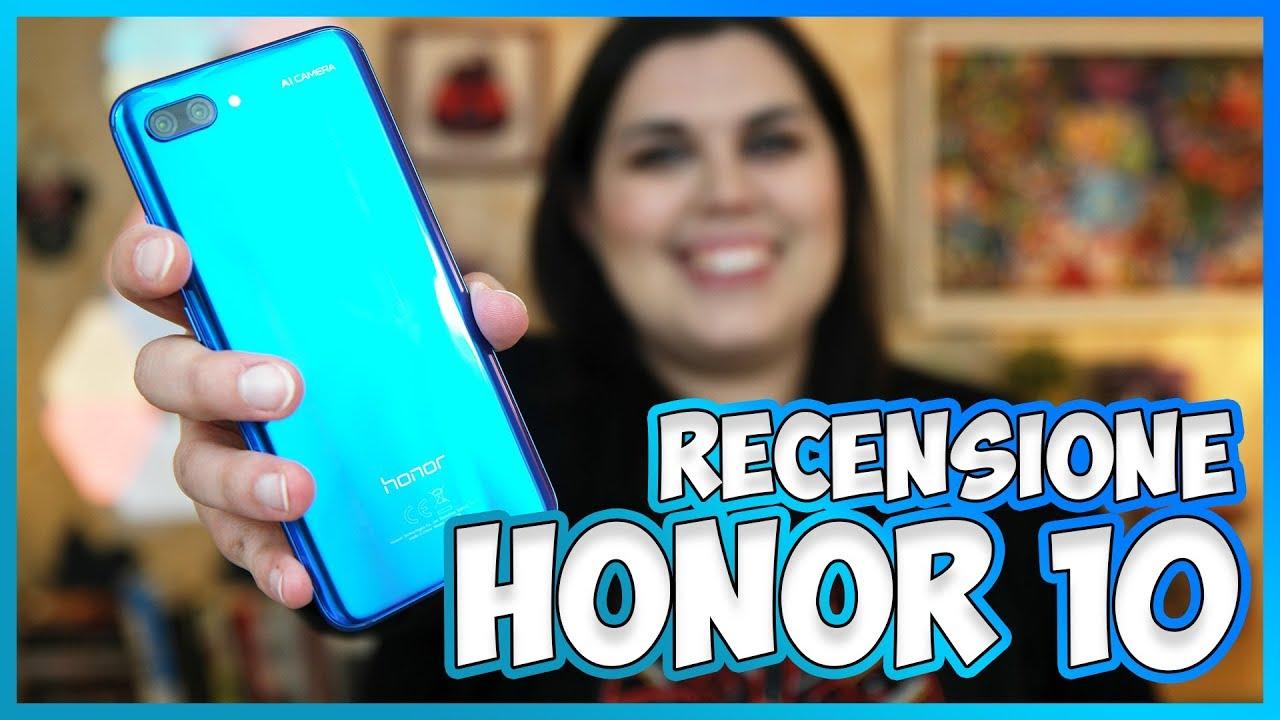 Recensione Honor 10: costa poco e performa bene! thumbnail