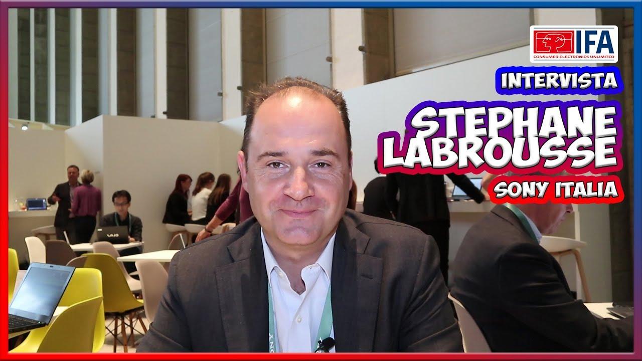"[IFA 2017] Stephane Labrousse: ""Le principali novità di Sony"" thumbnail"