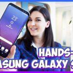 hands on samsung galaxy s8+