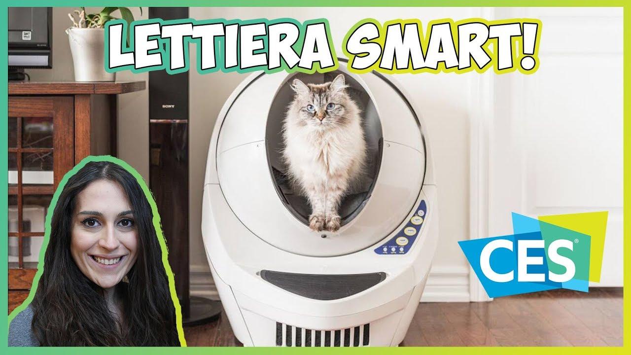 [CES 2018] Litter Robot 3: la lettiera per gatti più smart che esista thumbnail