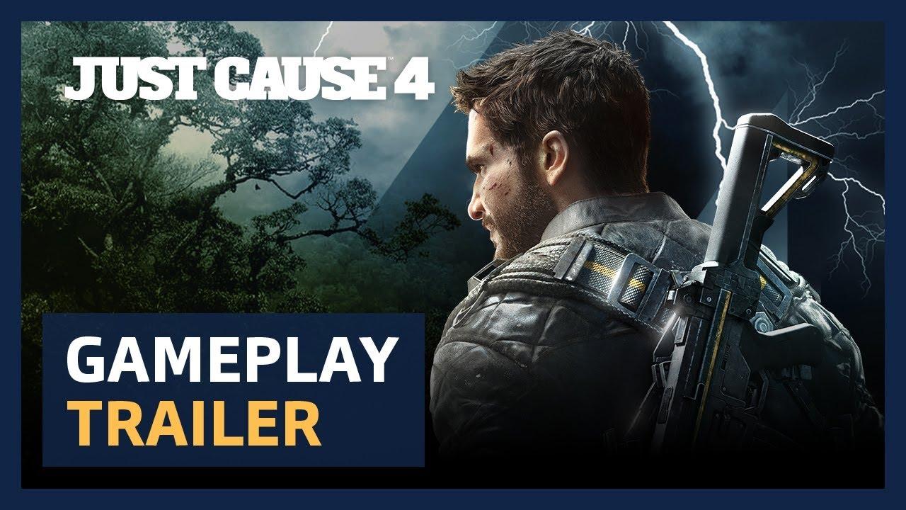 Just Cause 4: Square Enix annuncia la data d'uscita del gioco thumbnail