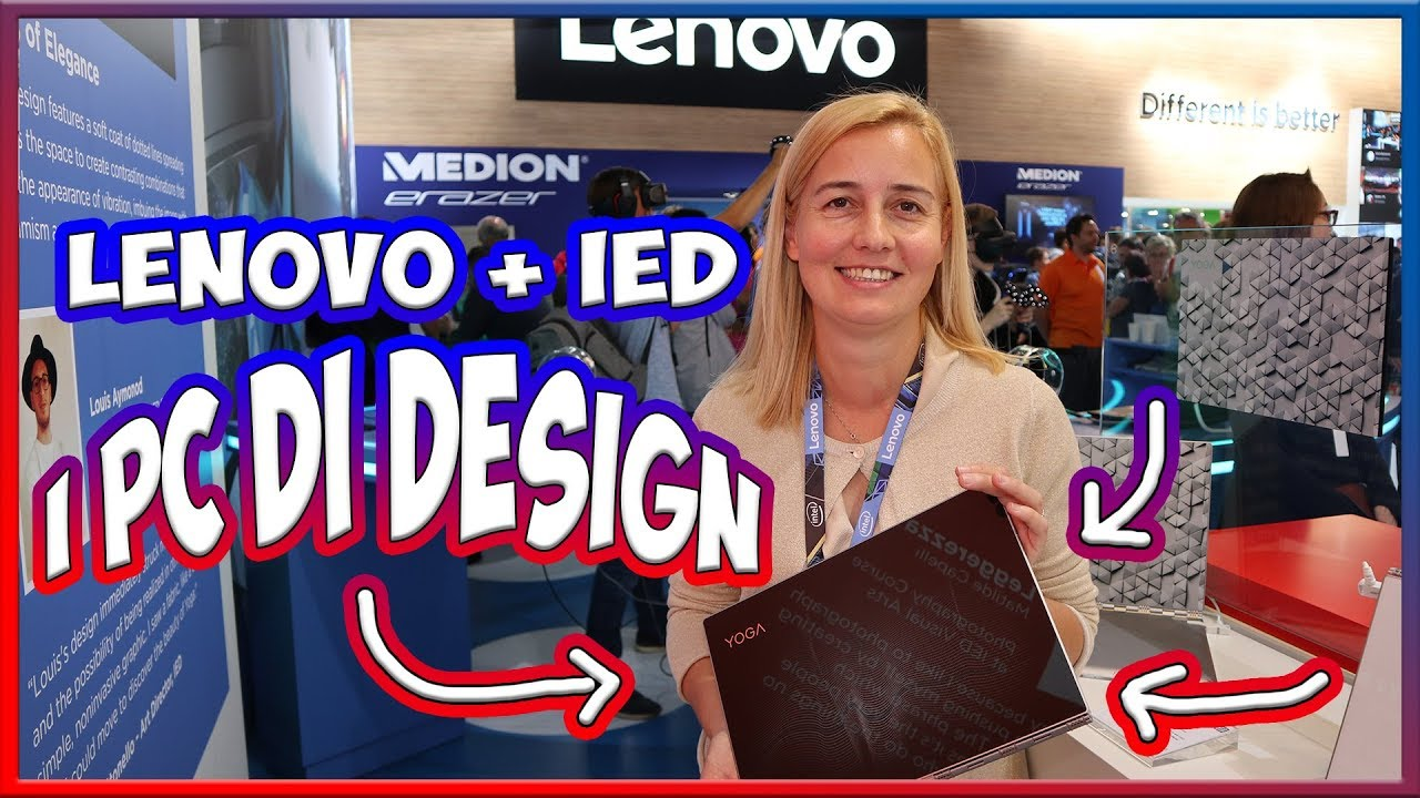 Lenovo e IED: ecco come nascono i PC di design Yoga Glass 920 thumbnail
