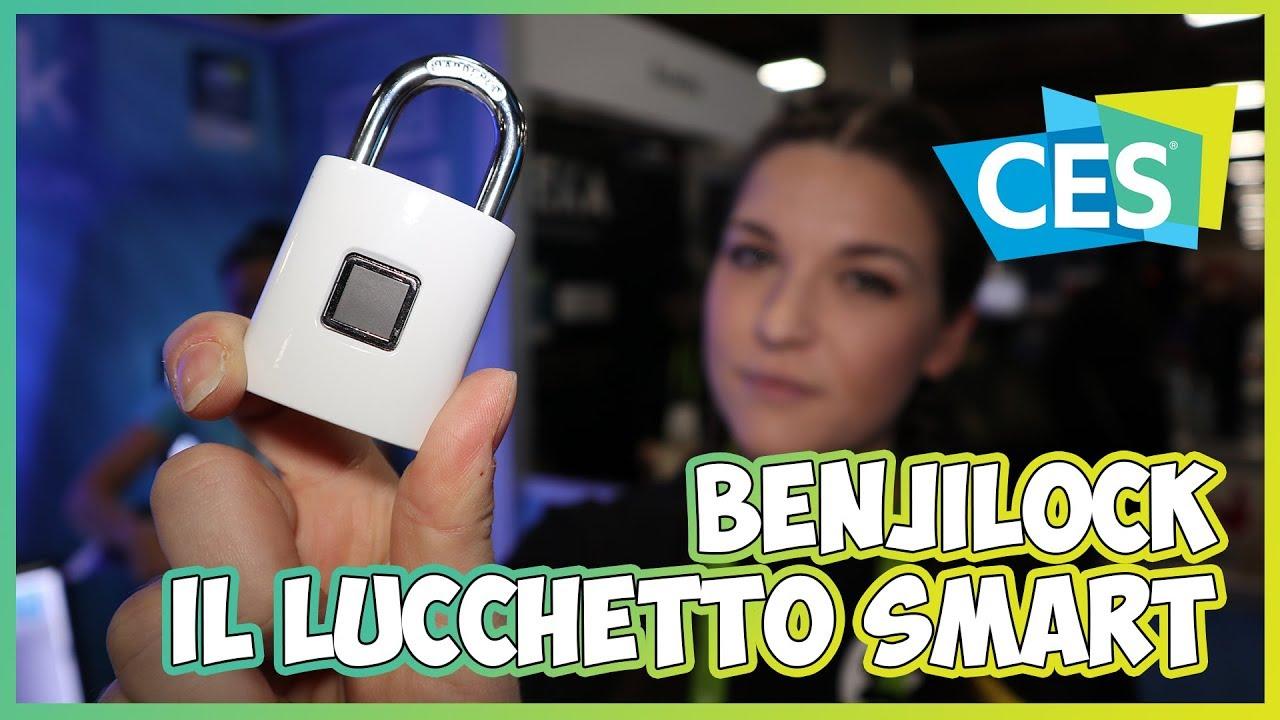 BenjiLock: il lucchetto ibrido con lettore di impronta digitale | CES 2018 thumbnail