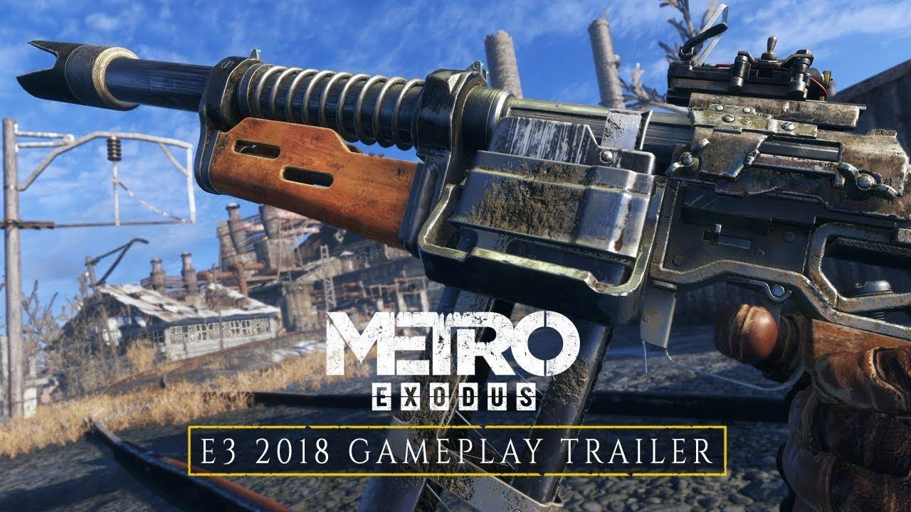 Metro Exodus, il nuovo video gameplay dall'E3 ci riporta in Russia thumbnail