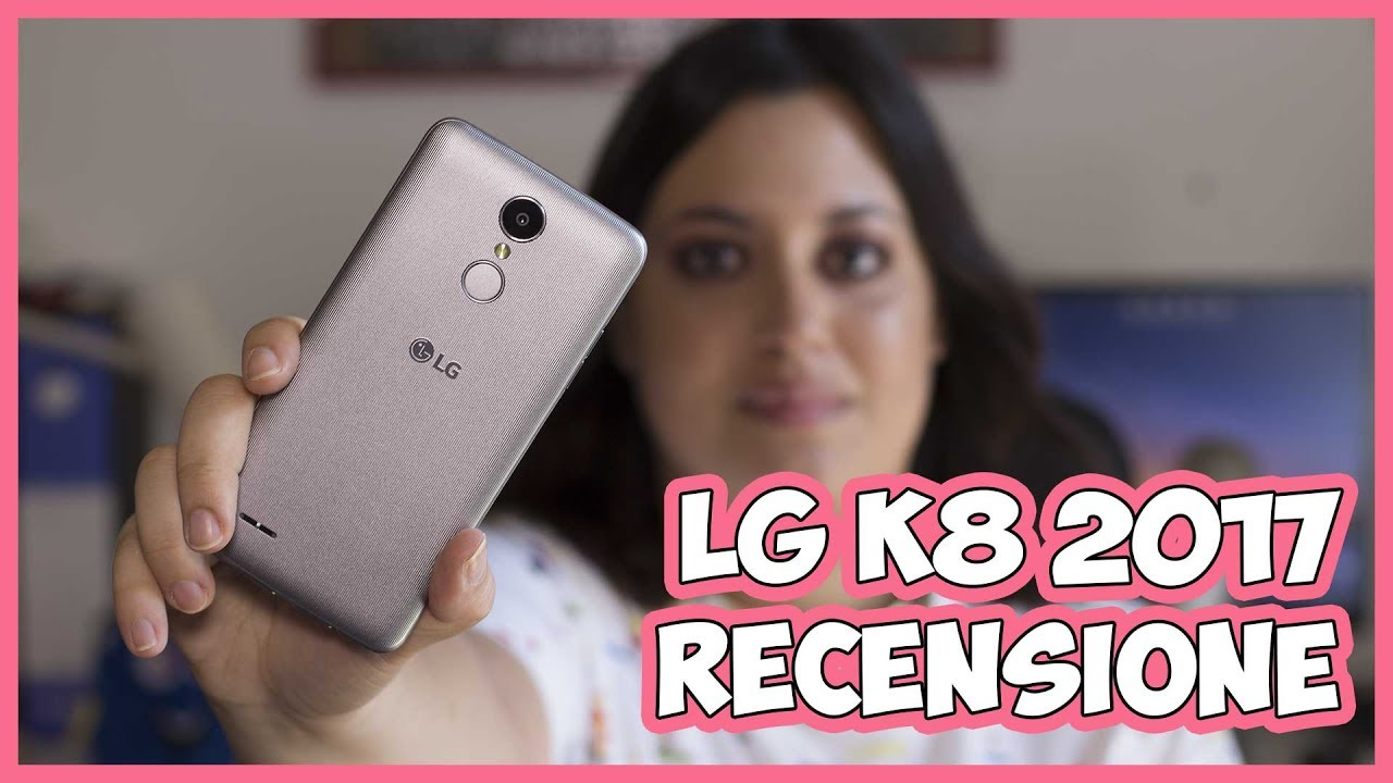 [RECENSIONE] LG K8 versione 2017 thumbnail