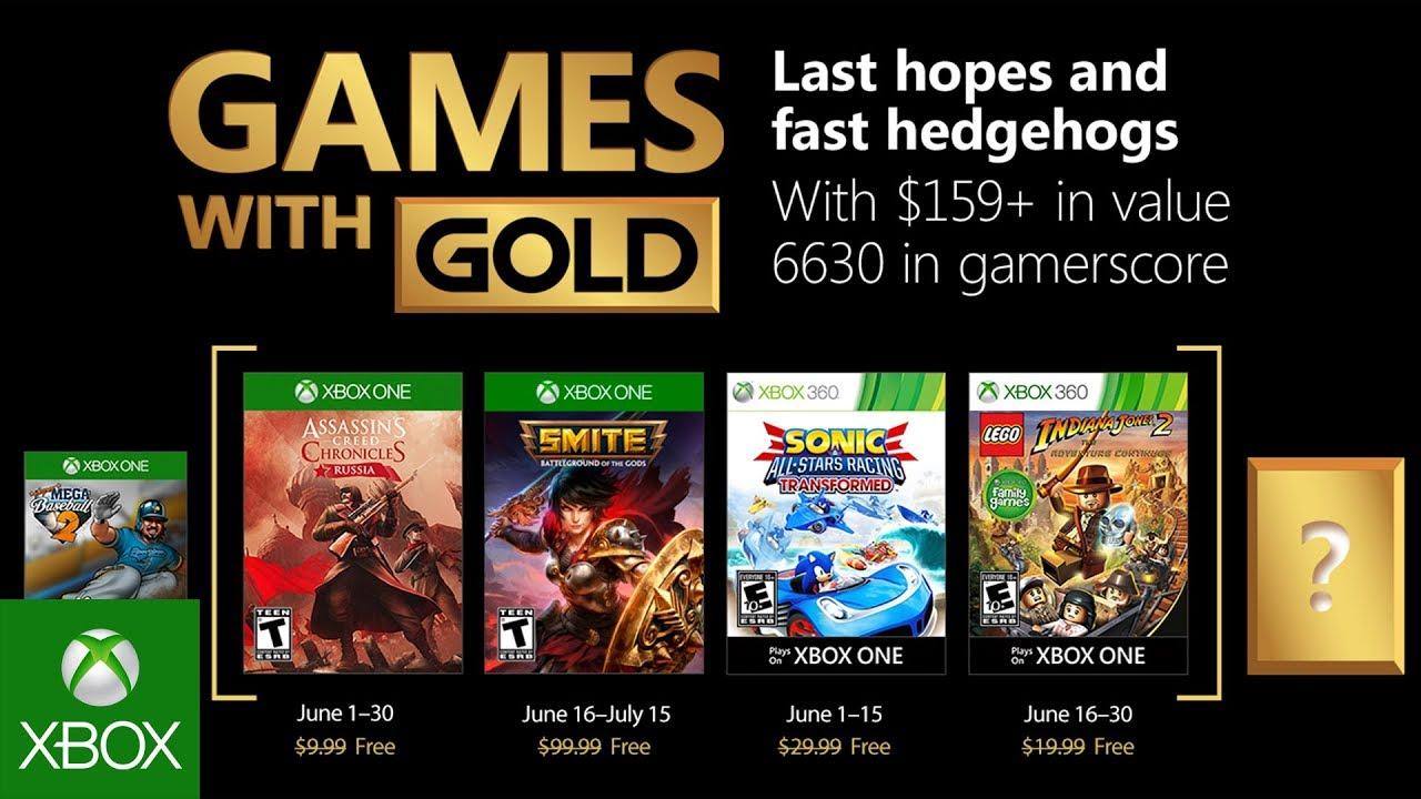 Games with Gold, ecco quali sono i titoli gratuiti di giugno 2018 thumbnail