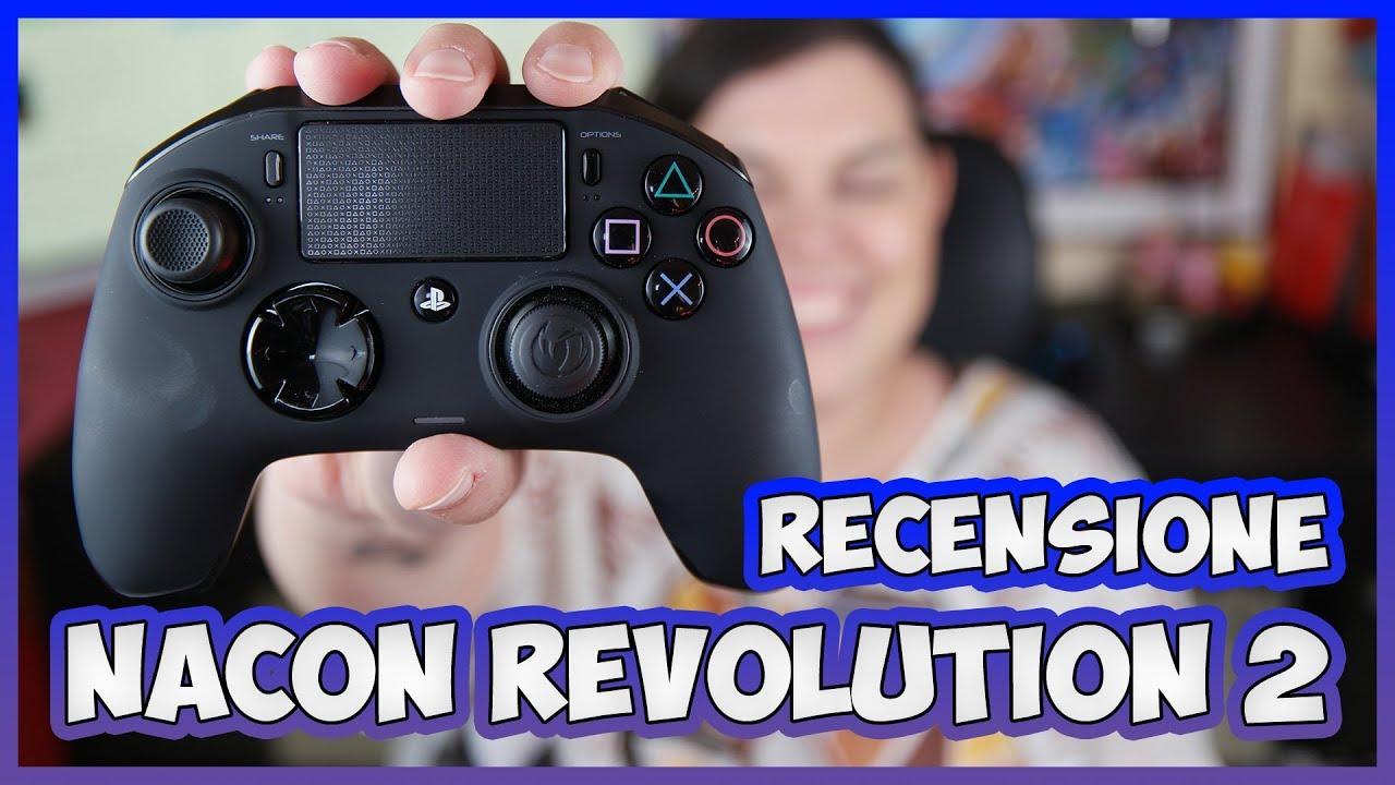 [Recensione] Nacon Revolution Pro Controller 2: è il miglior pad per PlayStation 4? thumbnail