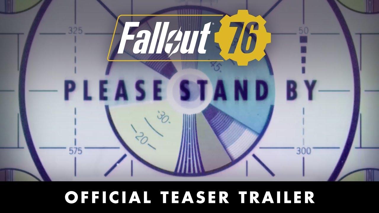 Fallout 76, ecco il primo trailer del nuovo RPG post-apocalittico thumbnail