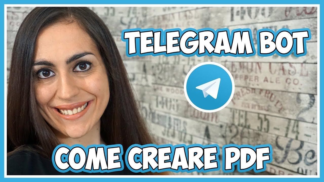 I migliori bot di Telegram: trasforma documenti ed immagini in PDF thumbnail