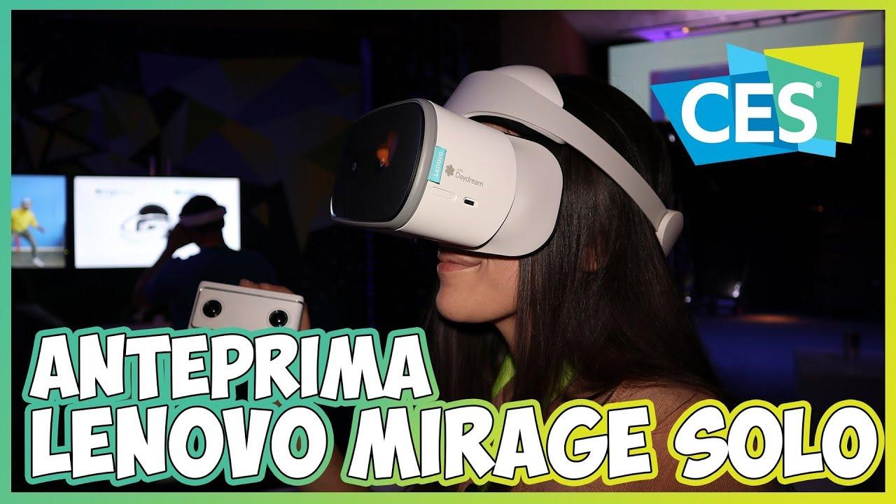 [CES 2018] Google ufficializza Lenovo Mirage Solo e due fotocamere VR thumbnail